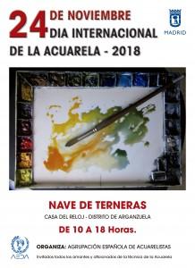 CARTEL DIA INTERNACIONAL DE LA ACUARELA 2018.indd