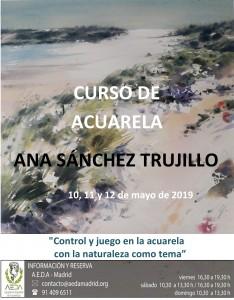Cartel Ana Sánchez