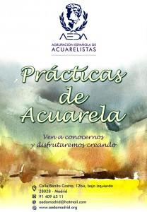 Prácticas de Acuarela en AEDA