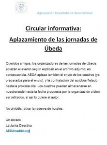 20200327_aplazamiento-jornadas-ubeda