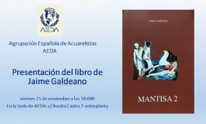 Presentación del libro de Jaime Galdeano