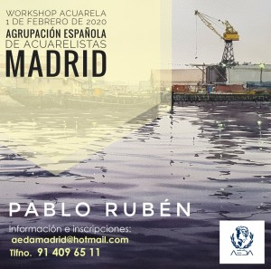 Cartel de Pablo Rubén