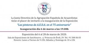 20200306_Invitación exposición pintoras
