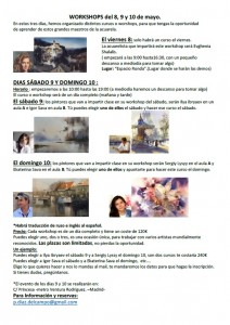 Workshops_información